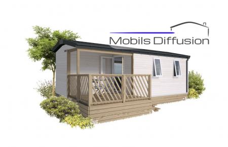Mobil-home neuf IRM Loggia Compact  / 2 chambres / Année 2021