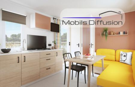Mobil-home neuf IRM Titania / 2 chambres / modèle 2021