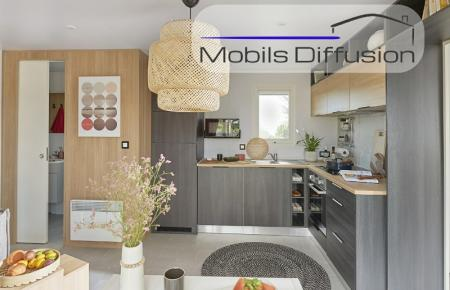 Mobil-home neuf Louisiane Cyclades  / 2 chambres / 2021
