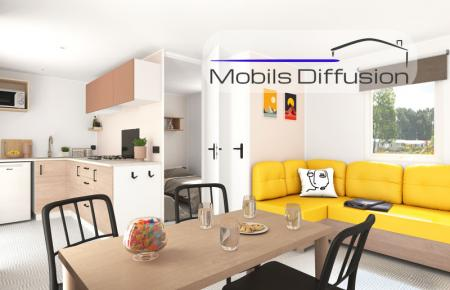 Mobil-home neuf IRM Riviera Suite / 2 chambres / modèle 2021