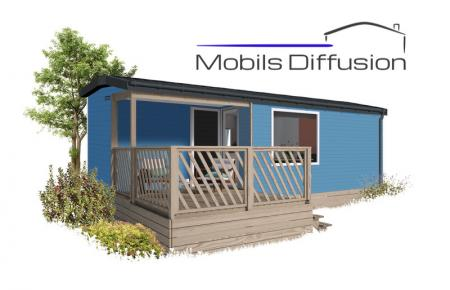 Mobil-home neuf IRM Loggia 2  / 2 chambres / Année 2021