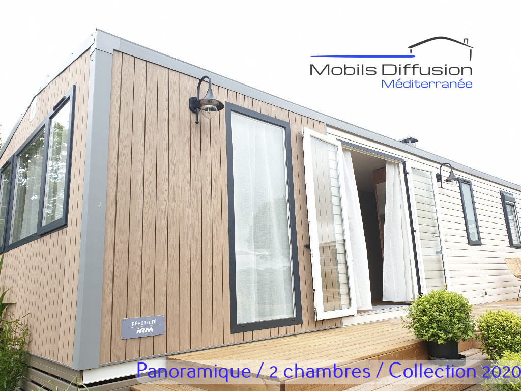 Mobil Home Neuf Panoramique Irm Reve D Ete Modele 2020 Lattes